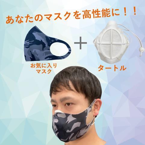 インナーマスクとしての装着イメージ