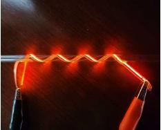 紐状のiOLED フィルム光源