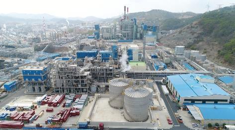錦湖三井化学 麗水工場