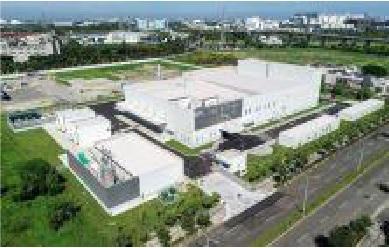 台湾東セロの全景。「イクロステープ」を製造する