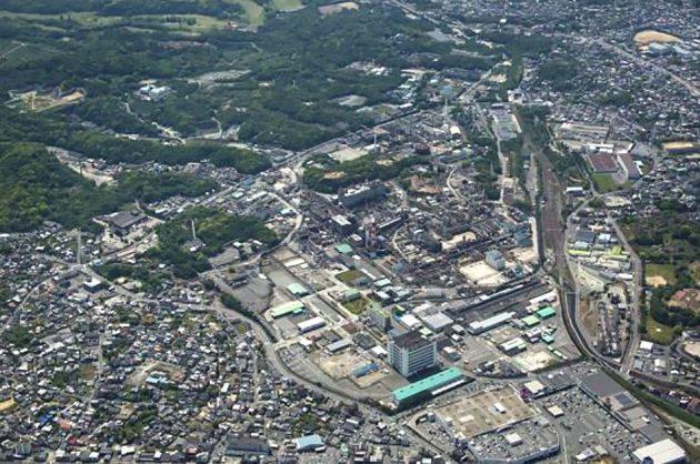 『MR』を生産する大牟田工場の全景
