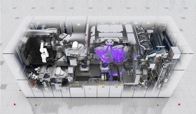 EUV露光機のイメージ図
