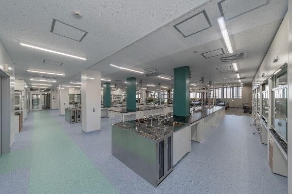 実験室の様子