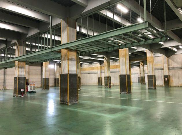 「摂津物流センター」 の内部の様子